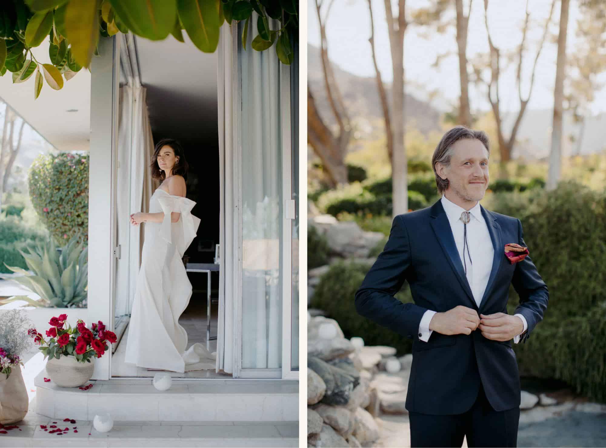 Frederick Loewe Estate Wedding – Palm Springs, California