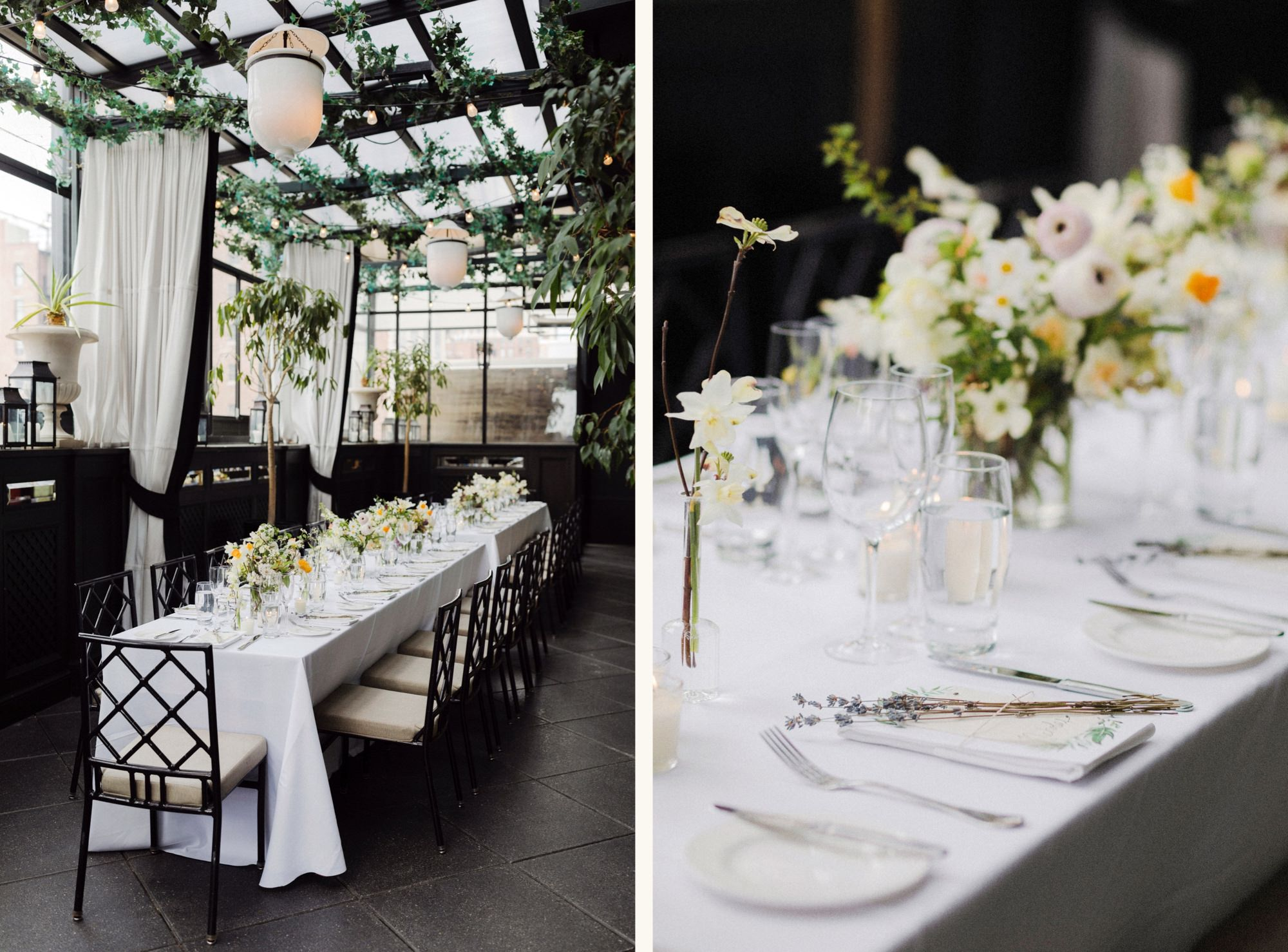 Gramercy Terrace Rooftop lunch wedding reception